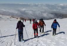 Raquetas de nieve La Ragua. 3 febrero