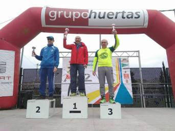 Pascual Pérez: 3º en su categoría