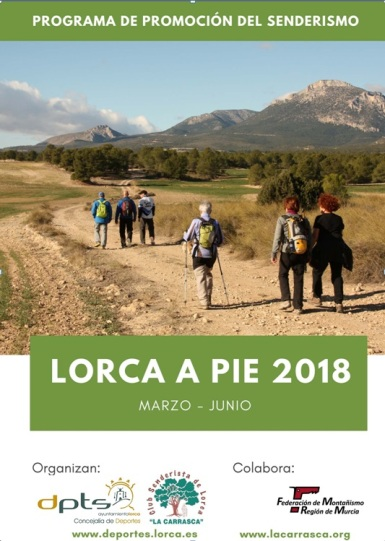 Cartel Lorca a Pie 2018